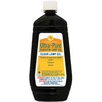 LAMP OIL ULTRAPURE CLR 18 OZ