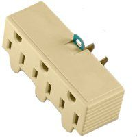 IVRY 3OUTLET 2WIRE GND ADAPTER