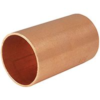 COUPLING COPPER STOP CXC 3/8