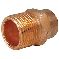 ADAPTER COPPER MALE 3/4IN