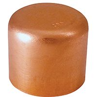 CAP COPPER TUBE 1/2 IN