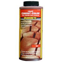 COLOR CEMENT RED 10OZ