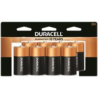 BATTERY ALKALINE CU TOP CD-8D
