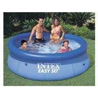 INTEX Easy Set 28110EH Pool Set, 639 gal Capacity, Plastic