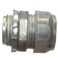 Halex 90212 Concretetight Compression Coupling, Zinc