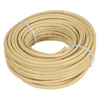 WIRE TELEPHONE RND 6W 50FT ALM