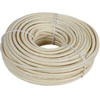 WIRE TELEPHONE ROUND 100FT ALM