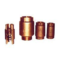 CHECK VALVE BRNZ FPT 1-1/4IN