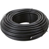 CABLE COAX RG6 N/END 100FT BLK