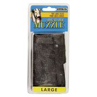 MUZZLE ADJ LARGE BLACK 1IN