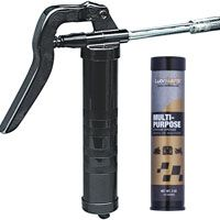 LubriMatic 30-132 Grease Gun Kit, 3 oz Capacity, 3600 psi, Zinc