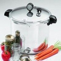 Presto 01781 Pressure Canner and Cooker, 23 qt Capacity, Aluminum