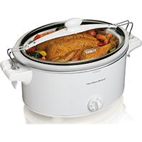COOKER SLOW OVAL 6QT