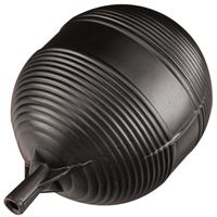 TOILET TANK FLOAT BALL BLACK