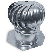 Master Flow AIC14 Rotary Turbine Ventilator, Aluminum