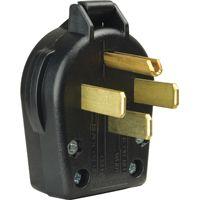 BLK PLAST ANG 4WR PLG 125/250V