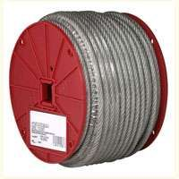 CABLE UNCOATED 3/16INX250 FT