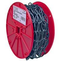 Campbell 072-2002 Decorator Chain, 35 lb Working Load Limit, #10, Metal, Poly-Coated