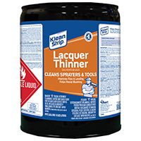 THINNER LACQUER 5 GALLON