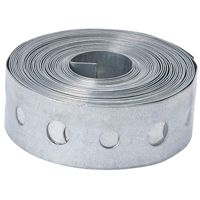 PIPE STRAP GALVANIZED 3/4X10FT