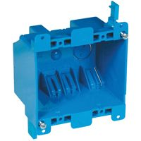 BOX OUTLET PVC 2 GANG OLD WORK