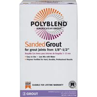 GROUT SANDED BRIGHT WHITE 7LB