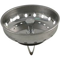 STRAINER BASKET SINK SPRING SS