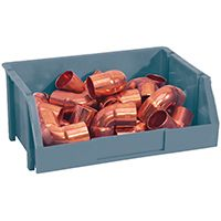 STORAGE BIN MEDIUM BLUE