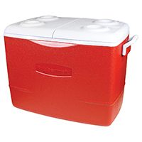ICE CHEST FAMILY MDRN RED 50QT