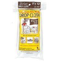 CLOTH DROP PLASTIC 2MIL 9X12FT