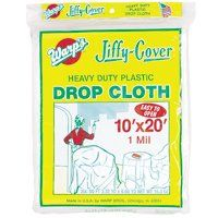 CLOTH DROP PLSTC 1MIL 10X20FT