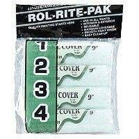 ROLLER COVER POLY 4PK 9X3/8IN