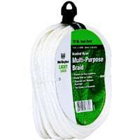 ROPE NYLON BRAID 1/4X100 FT