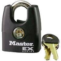Master Lock 1DEX Padlock, 1-3/4 in W Body, Steel