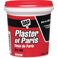 PLASTER OF PARIS DRY MIX 4LB