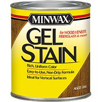 STAIN GEL INT AGED OAK 1/2PINT