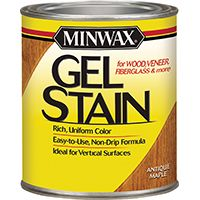 STAIN GEL INT ANT MPL 1/2PINT