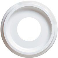 Westinghouse 7703700 Ceiling Medallion, 9-3/4 in Dia, Plastic