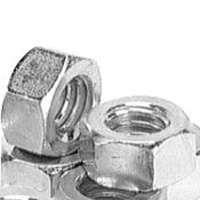 PFC 323280-PR Hex Nut, 3/4-10 in Thread, Coarse