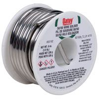 SOLDER WIRE 50/50 SOLID 226G