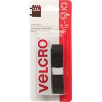 FASTENER VELCRO TAPE 18IN BLK