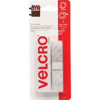 FASTENER VELCRO TAPE 18IN WHT