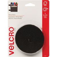 FASTENER VELCRO TAPE 5FT BLACK