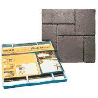 Quikrete Walk Maker 6921-34 Building Form, 80 lb Weight Capacity, 2 ft L Block, 2 ft W Block, Plastic
