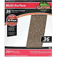 SANDPAPER AL OX 9X11IN 36GRT