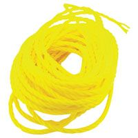 ROPE POLYP TWIST YEL 1/4X100FT