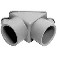 CONDUIT PULL PVC ELBOW 1/2-3/4