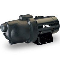 Flotec FP4012-10 Jet Pump, 115/230 V, 9.4 A, 1-1/4 in Suction, 1 in Discharge NPT