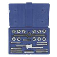TAP&HEX DIE SET 24PC FRACTION
