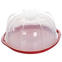 CAKE BUNDT KEEPER CLEAR